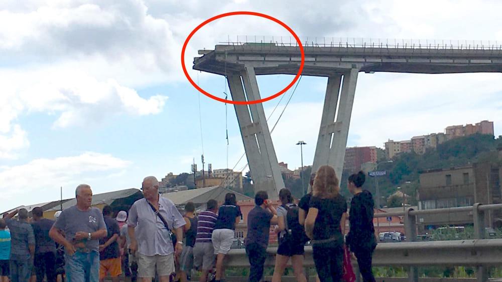 Crollo Ponte Morandi 10-2