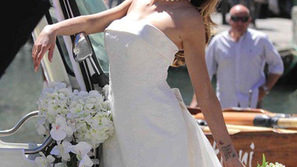 Melissa Satta Hot Abito Foto Portofino Sposa 3Aj54LqR