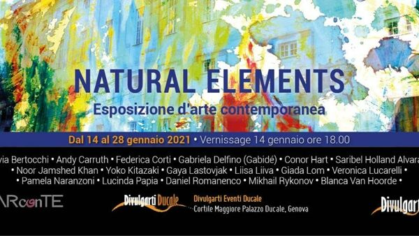 Natural Elements, esposizione di arte contemporanea