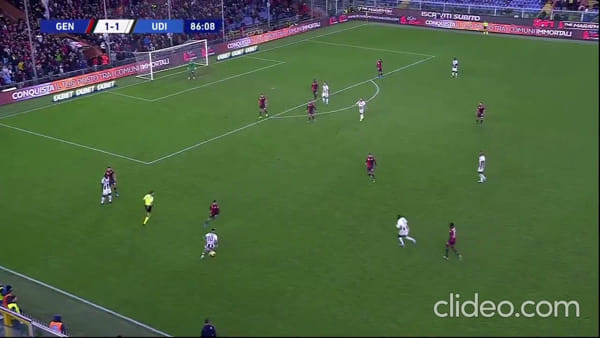 Video gol e sintesi partita Genoa-Udinese 1-3, gol di Pandev, De Paul, Sema e Lasagna