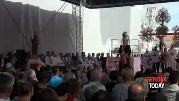 La commemorazione a un anno dal crollo del ponte Morandi: il video racconto della giornata