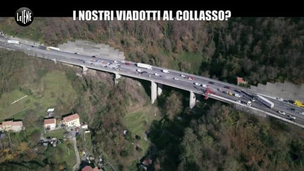 In che condizioni sono i ponti della Liguria? L'inchiesta delle Iene. Video