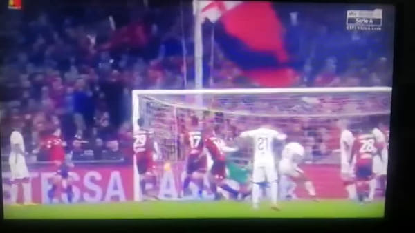 Video gol e sintesi partita Genoa-Torino 0-1, gol di Bremer