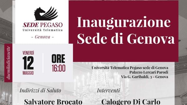L'Università Telematica Pegaso a Genova con una nuova sede ...