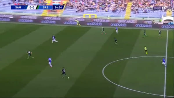 Video e sintesi partita Sampdoria-Sassuolo 0-0