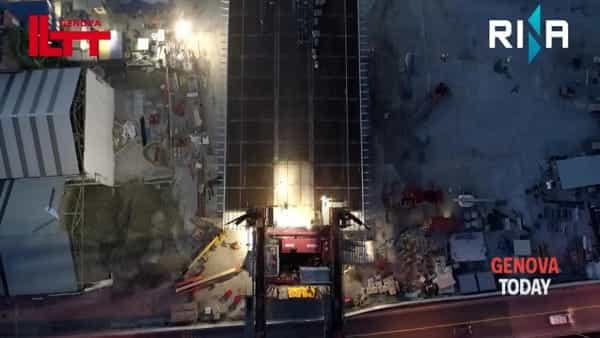 VIDEO | Nuovo ponte, ecco come la maxi campata è salita a 40 metri