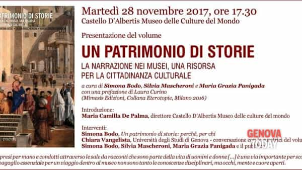 """""""Un patrimonio di storie"""": la narrazione nei musei, una risorsa per la cittadinanza culturale"""