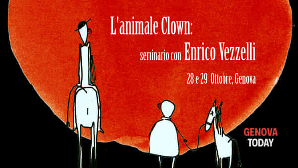 L'animale clown: seminario con Enrico Vezzelli