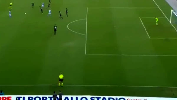 Video gol e sintesi partita Napoli-Sampdoria 2-0, gol di Mertens