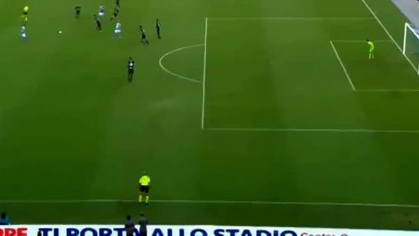 Video gol e sintesi partita Napoli-Sampdoria 2-0, gol di Mertens