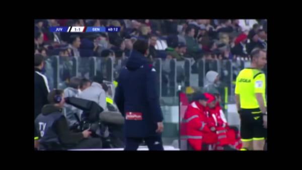 Video gol e sintesi partita Juventus-Genoa 2-1, gol di Bonucci, Kouamè e rigore di Ronaldo