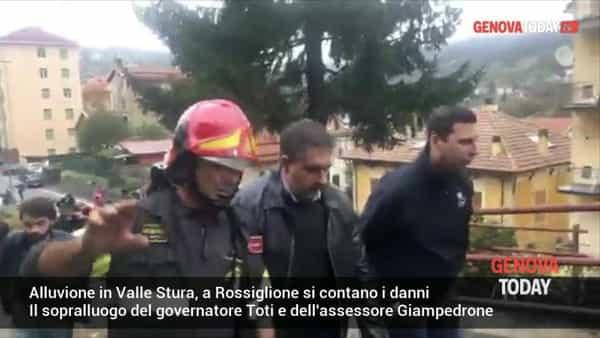 VIDEO | Alluvione in Valle Stura, a Rossiglione si contano i danni