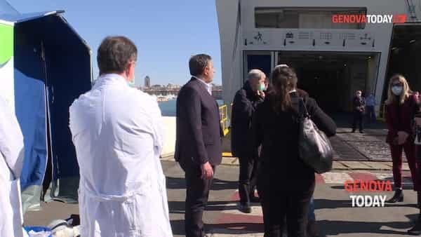 VIDEO | Coronavirus, viaggio nella nave-ospedale ormeggiata in porto
