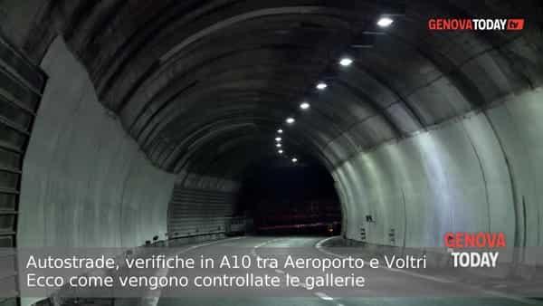 Autostrade, verifiche in A10: ecco come vengono controllate le gallerie. Video
