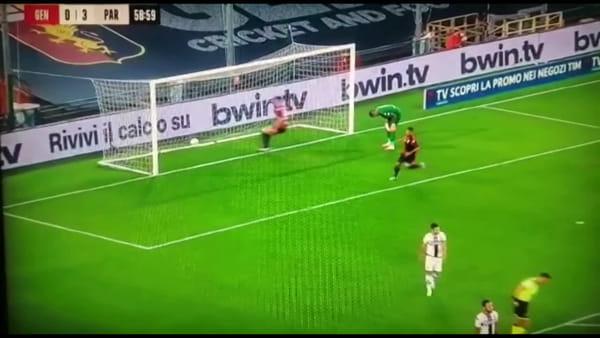 VIDEO | Gol e sintesi partita Genoa-Parma 1-4, tripletta di Cornelius e gol di Iago Falque e Kulusevski