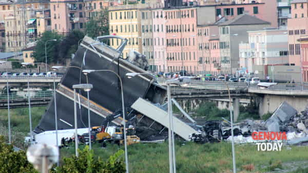 Crollo ponte Morandi, ripreso l'incidente probatorio