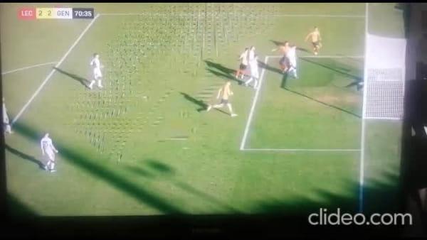 Video gol e sintesi partita Lecce-Genoa 2-2, gol di Pandev, Criscito, Falco e Tabanelli