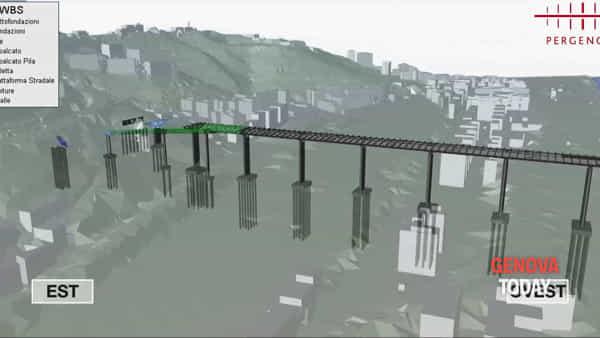 Ponte per Genova, ecco come verrà costruito. Video