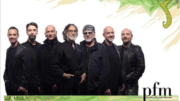 PFM canta De André - Anniversary: il concerto a 40 anni dall'ultimo live insieme