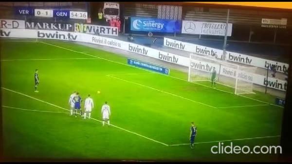 Video gol e sintesi partita Verona-Genoa 2-1, gol di Sanabria, Verre e Zaccagni