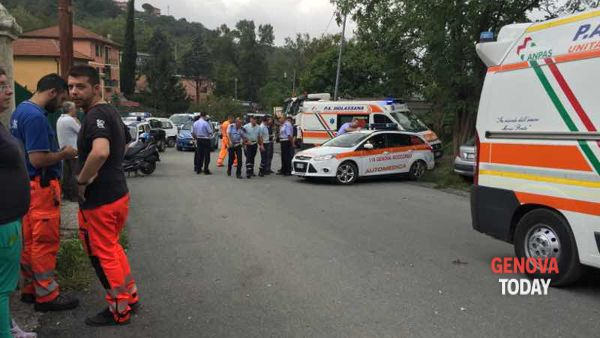 Incidente mortale a Molassana