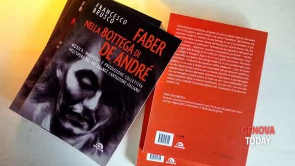 """""""Faber nella bottega di De Andrè"""", il libro di Francesco Brusco"""
