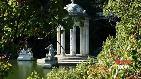 La meraviglia che c'è in te ...: visita guidata a villa Durazzo Pallavicini