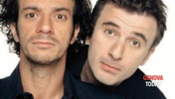 Ficarra e Picone in tour a Genova per festeggiare 25 anni di carriera