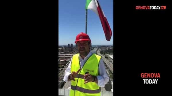 VIDEO | Matteo Salvini e la gaffe sul nuovo ponte: «Alimentato da pannelli di metano»