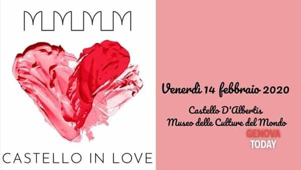 'Castello in Love' per la festa degli innamorati