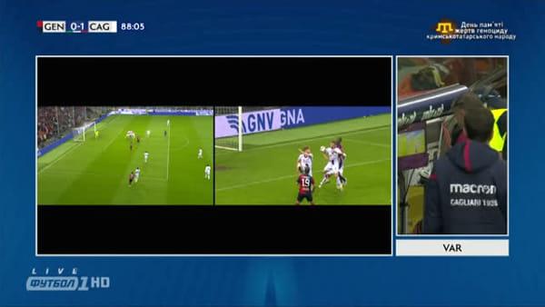 Video gol e sintesi partita Genoa-Cagliari 1-1, gol di Pavoletti e Criscito
