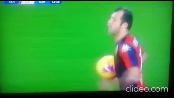 Video gol e sintesi partita Genoa-Roma 1-3, gol di Under, Pandev, Dzeko e autogol di Biraschi
