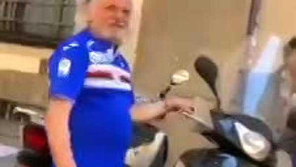 VIDEO | Sampdoria: «Ah Ferrero, te saluta Dzeko», il presidente sbeffeggiato da tifoso
