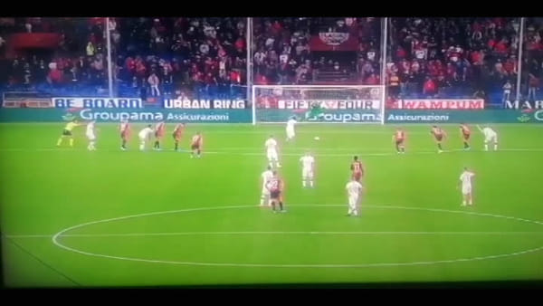 Video gol e sintesi partita Genoa-Milan 1-2, gol di Schone, Hernandez e Kessie