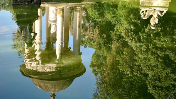 Tornano gli antichi giochi d'acqua nel parco di Villa Durazzo Pallavicini