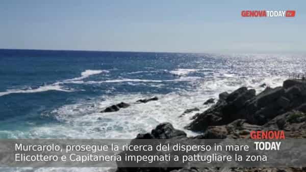 VIDEO | Murcarolo, proseguono le ricerche del giovane disperso in mare