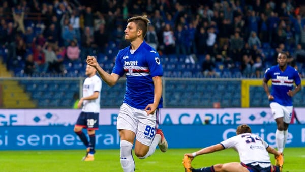 Sampdoria-Crotone 5-0, strapotere blucerchiato | Video
