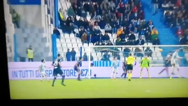 Video gol e sintesi partita Spal-Sampdoria 0-1, gol di Caprari