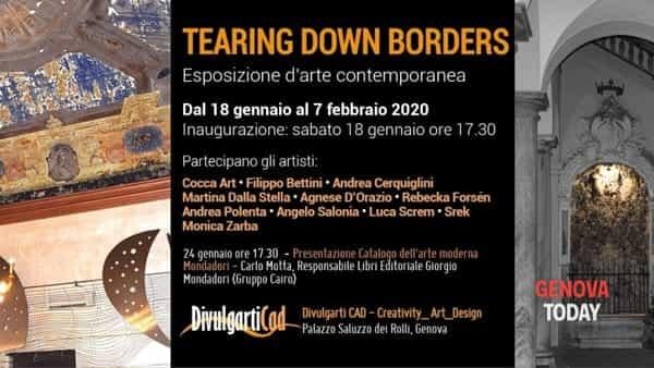 Tearing Down Borders: mostra d'arte collettiva