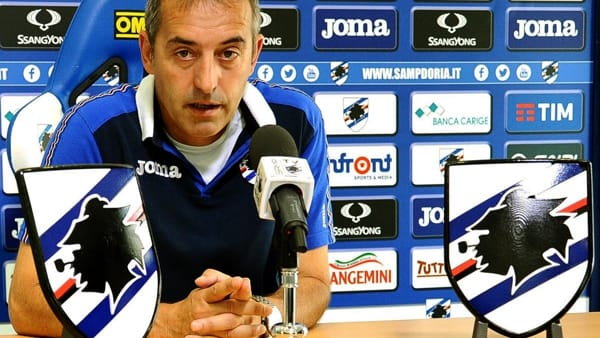 VIDEO | Sampdoria-Inter 1-0, Giampaolo: «Vittoria di squadra»