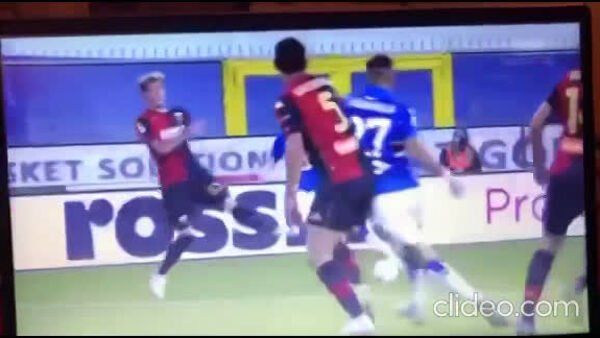 VIDEO | Sampdoria-Genoa 1-1: gol di Jankto e Scamacca