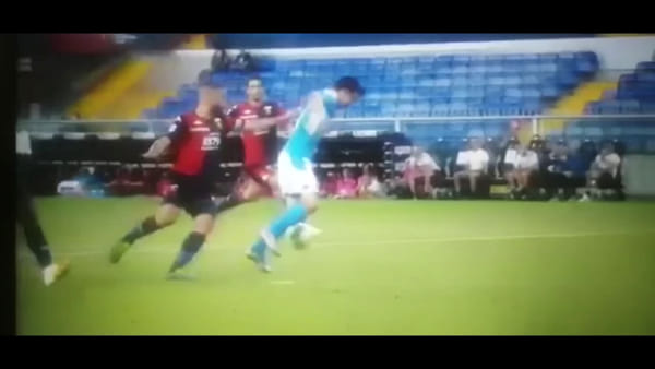 VIDEO | Gol e sintesi partita Genoa-Napoli 1-2, gol di Mertens, Goldaniga e Lozano