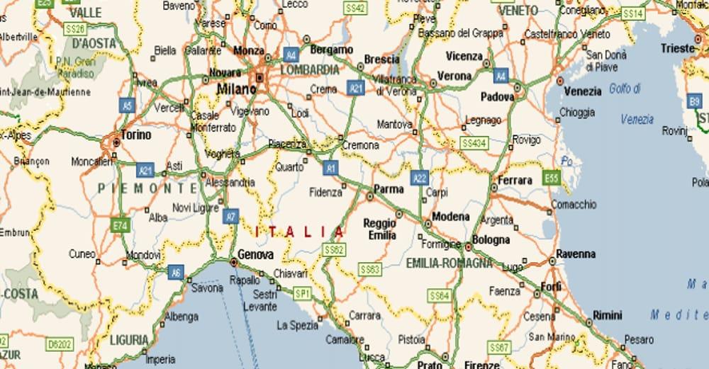 Italia Cartina Autostradale.Vacanze Estive 2019 Mappa Delle Strade Alternative All Autostrada