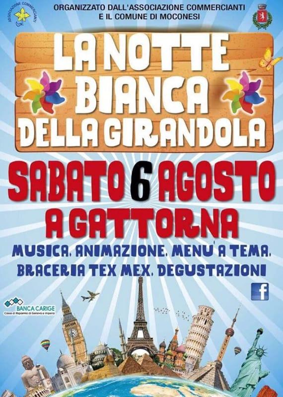 Notte Bianca Girandola Gattorna 2016