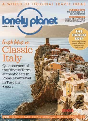 Copertina Cinque Terre Magazine Lonely Planet-2