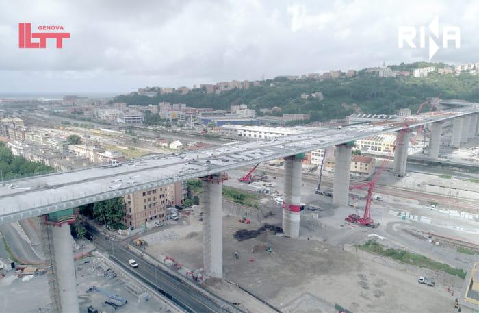 Ponte di Genova, lavori in dirittura d'arrivo09